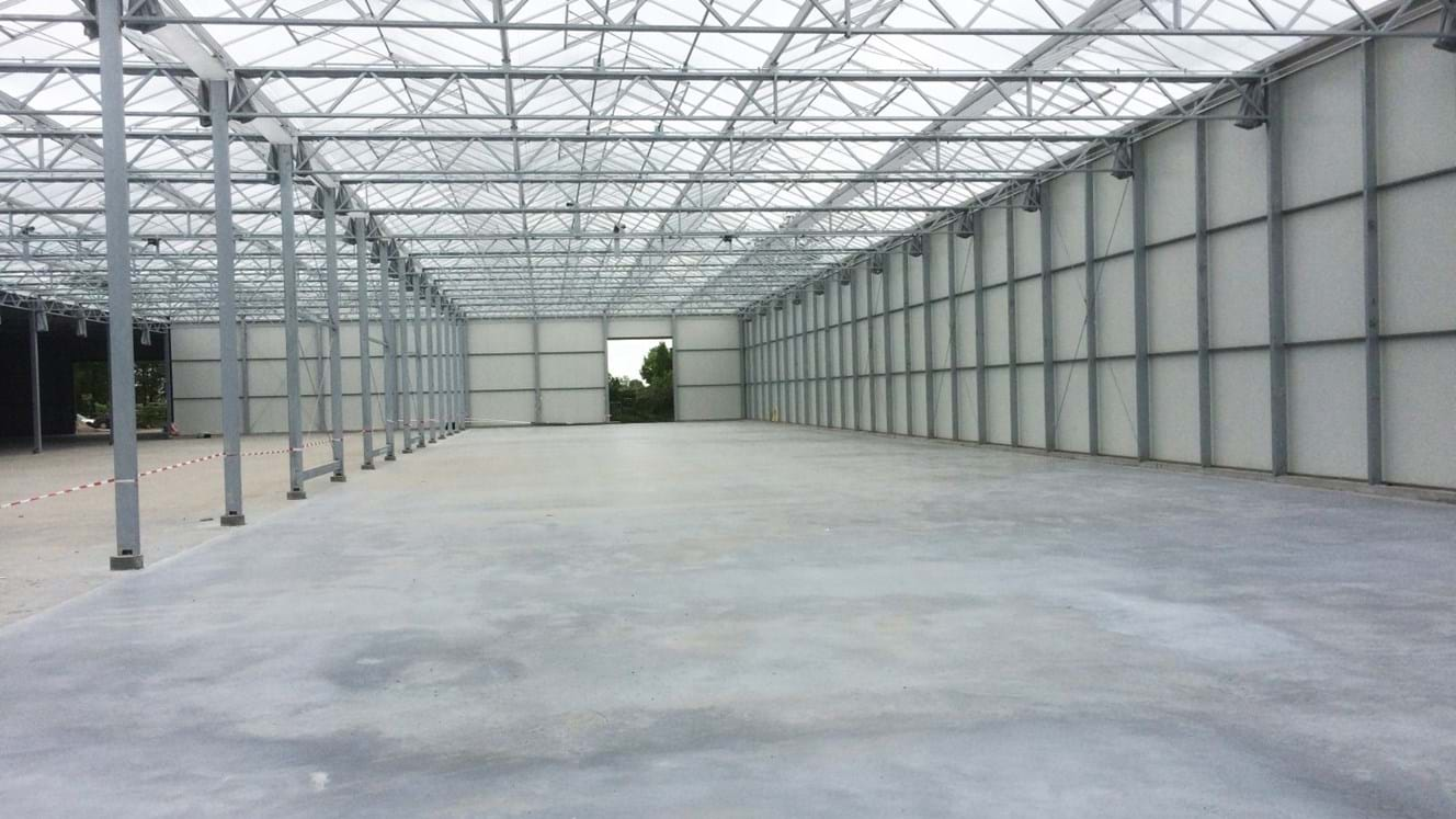 Greenhouse for growing roses in Holland